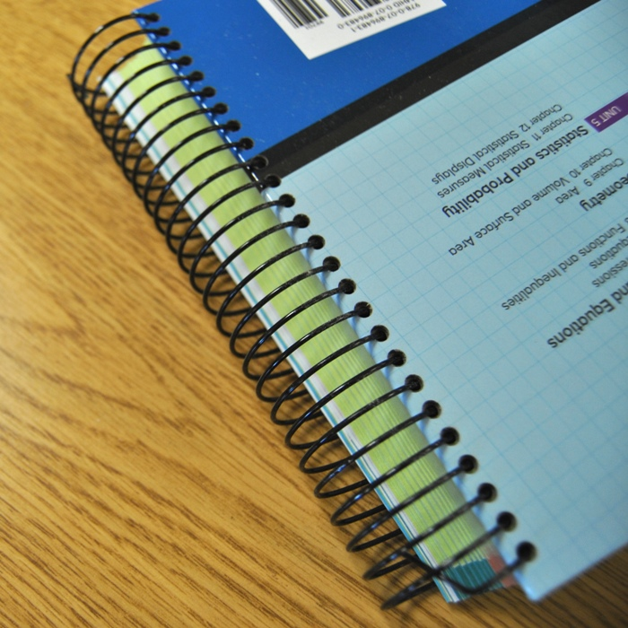 Wire Spiral Binding